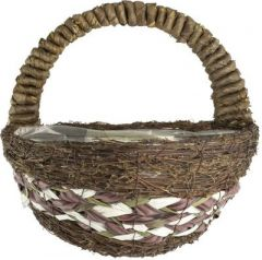 """Lucia Wall Basket 12"""" - Round"""